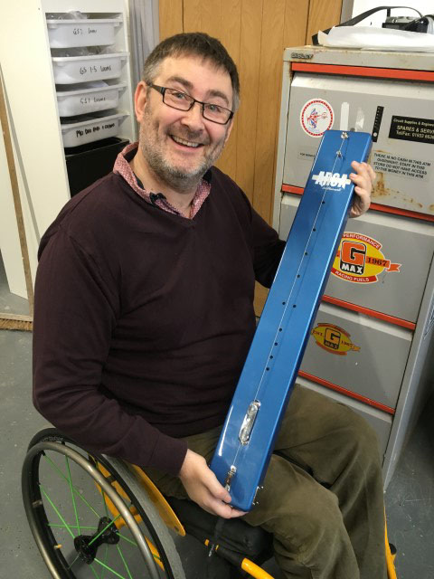 Nigel Holland Co-Found of Arca Instruments
